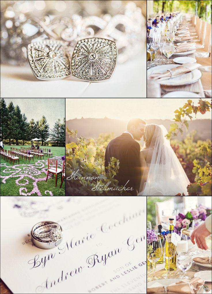 Destination Wedding ~ Trentadue Winery with Cole Drake Events. Photo: Shannon Stellmacher. Floral Design: Fleurs de France. www.fleursfrance.com