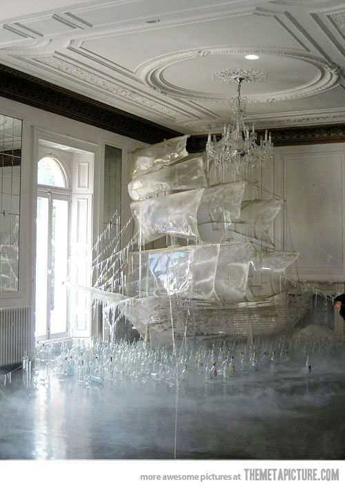 So this is an ice sculpture… My dad will do this for $8,000; stated, a, former, pinner!