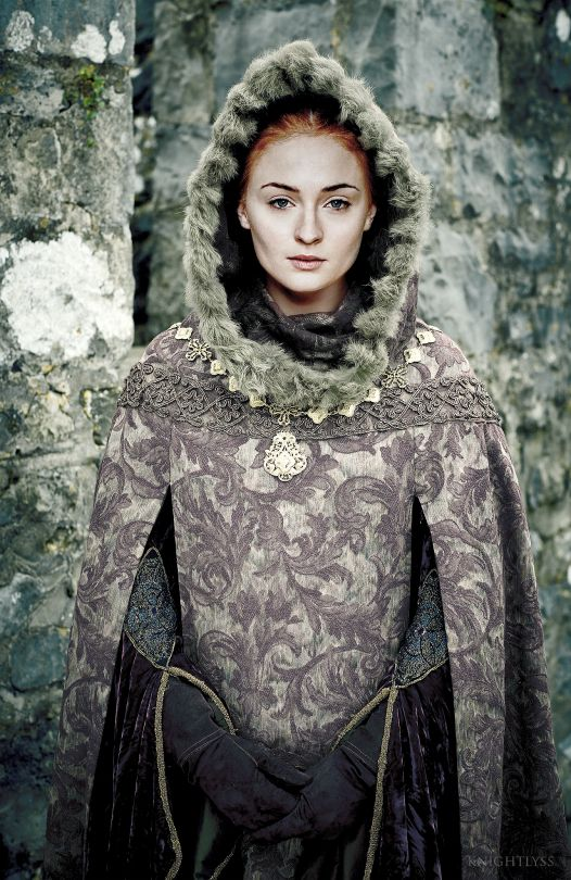 I am Sansa Stark of Winterfell  This is my  h o m e  And you can't frighten  me