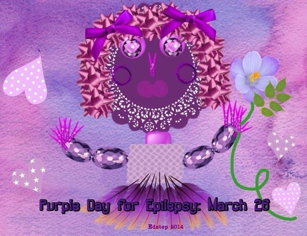Epilepsy Awareness Day created by 'crazy craft' app
