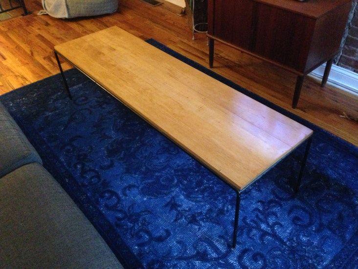 Paul McCobb Planner Group Maple/Iron Coffee Table  —