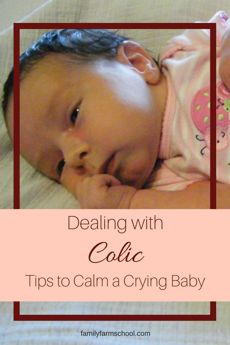 Crying and colic can be overwhelming for a new parent. Learn how to calm your fussy, crying baby. Remember, this too shall pass!