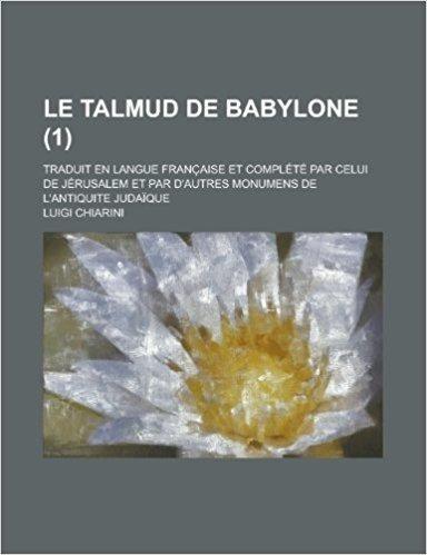 DE BABYLONE LE TALMUD TÉLÉCHARGER