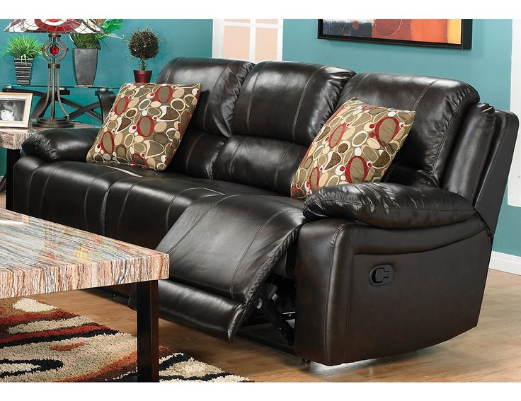 Marco Genuine Leather Reclining Sofa - Chocolate & 27 best Couches images on Pinterest | Diapers Sectional sofas and ... islam-shia.org