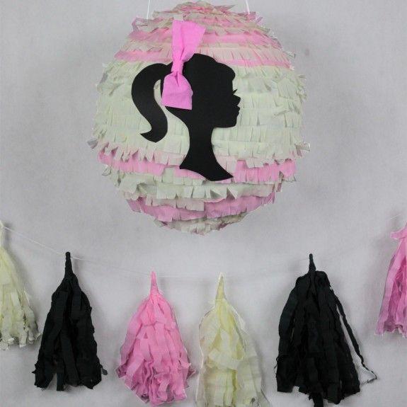 Barbie Piniata, Princess,  urodziny, party, garden party, przyjęcie, niespodzianka z cukierkami, prezent, gift, dzieci, dziecko fun