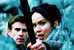 I loved that they put this part in the movie. It really captured how traumatized Katniss was by the first Games, and how she has to relive those same horrors on a daily basis.