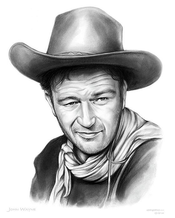 b64f7f5b61f995 John Wayne | Fan Art - Graphite Drawings | John wayne, John wayne movies,  Celebrity portraits