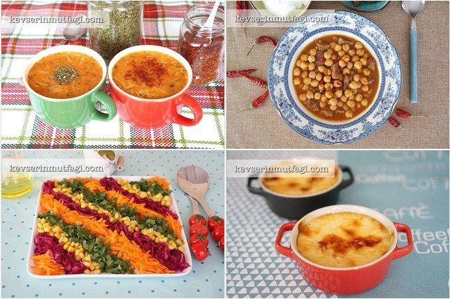 Günün Menüsü 7 Ağustos : Şehriye Çorbası Tarifi, Etli Nohut Yemeği Tarifi, Havuçlu Mor Lahana Salatası Tarifi, Fırın Sütlaç Tarifi - Bugün ne pişirsem, Yemek Menüsü, Akşam Yemeği Menüsü, Davet Sofrası, Akşama Ne Yapsam