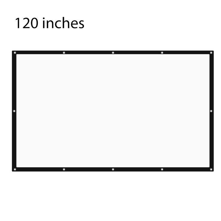 Get 120 Inch 16:9 Portable Tabletop Projector Screen with eyelets with Frame For UC46 XGIMI JMGO BenQ LG Sony Home Theater Porjector #Inch #16:9 #Portable #Tabletop #Projector #Screen #with #eyelets #Frame #UC46 #XGIMI #JMGO #BenQ #Sony #Home #Theater #Porjector