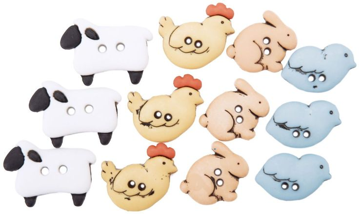 Dress It Up Embellishments-Country Critters