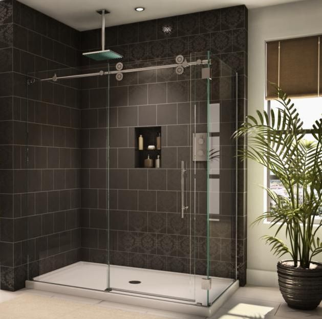 1000 Ideas About Sliding Shower Doors On Pinterest