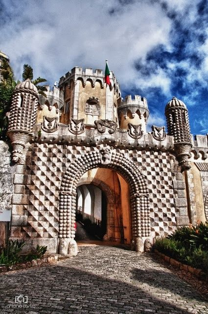 Just look at the architectural details here at Sintra , Portugal