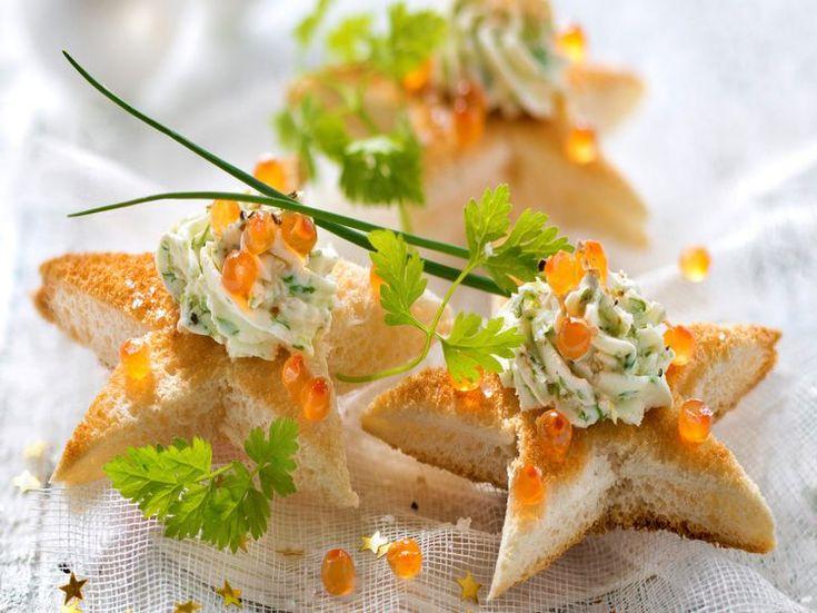 Découvrez la recette Toast aperitif sur cuisineactuelle.fr.