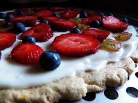 The Tasty Cheapskate: Healthy Fruit Pizza