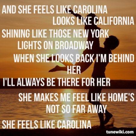 Carolina - Parmalee<3 #lovethissong #oneofthebest