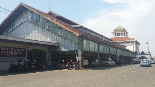 3rd destination: Semarang Tawang, it's a train station.