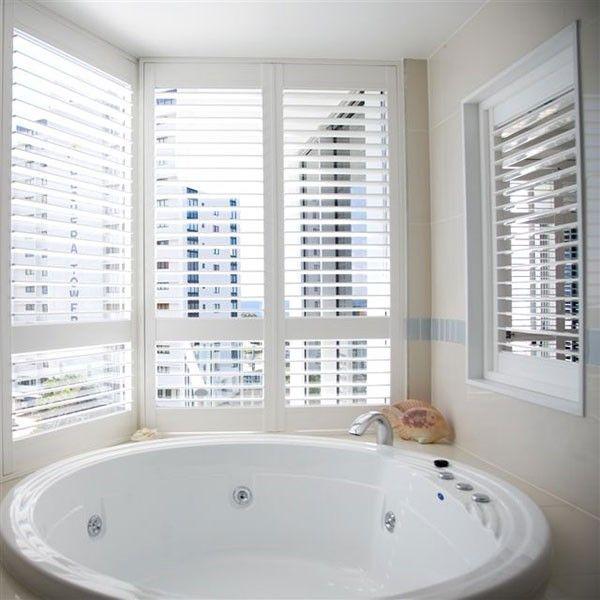 40 Best Bathroom Inspiration Plantation Shutters Images On Pinterest Indoor Shutters Blinds