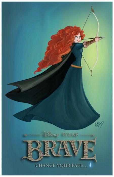 Brave: Brave, Film, Princess, Can T Wait, Cant, Movie, Case, Disney, Favorite