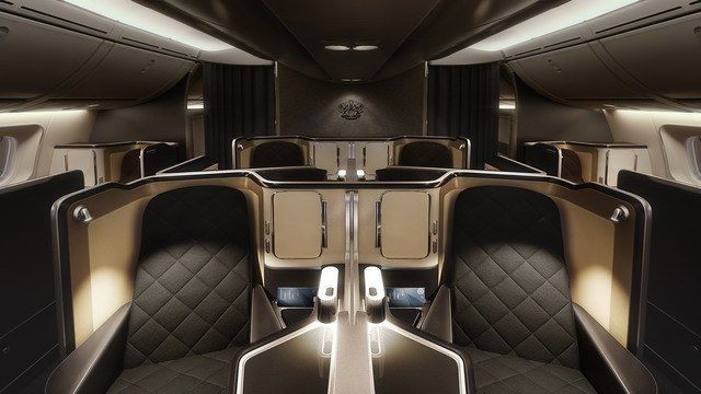The 6 Most Luxurious First Class Airline Cabins Photos | Architectural Digest
