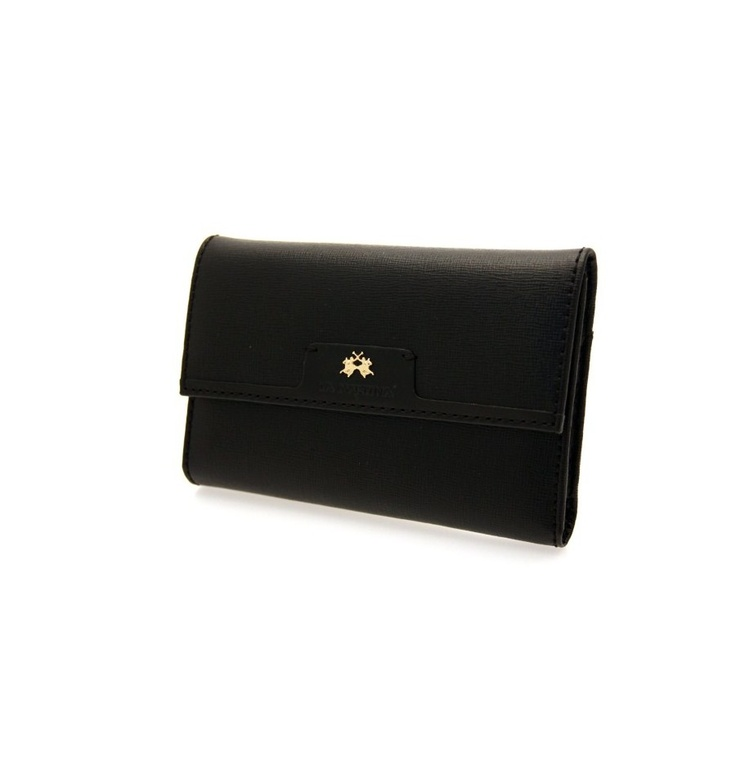 GENUINE LA MARTINA Wallet Rodriguez Woman Black - 046020999, $134