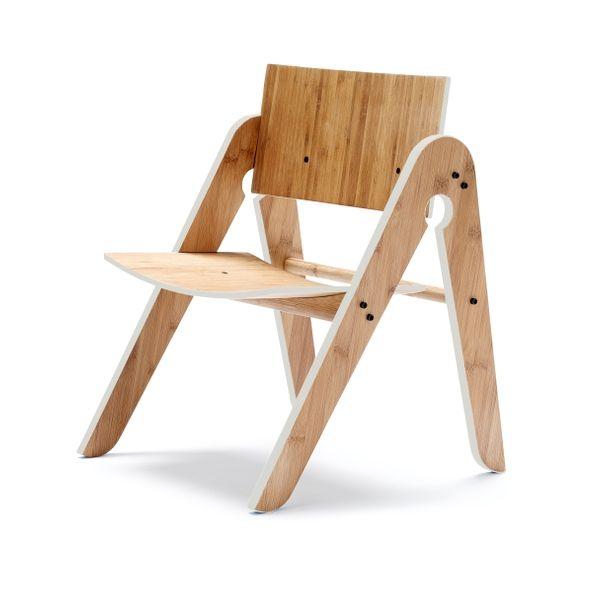 We:Do:Wood Lilys børnestol, Lysegrå - Børnemøbler | Emanuels Design Shop - NYE FARVER FRA We Do Wood