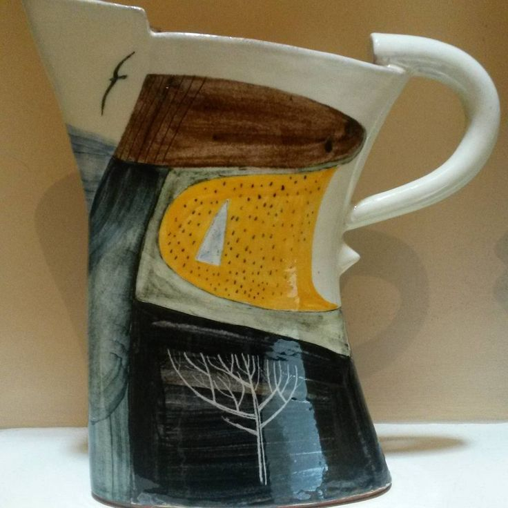 'Yellow Field' jug by James Campbell, 2015