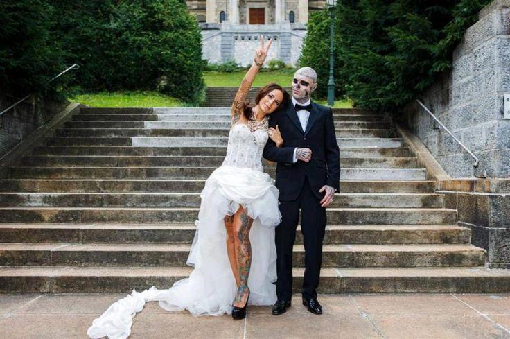 Giahi owner giada rico the zombie tatt pinterest for Want to sell my wedding dress