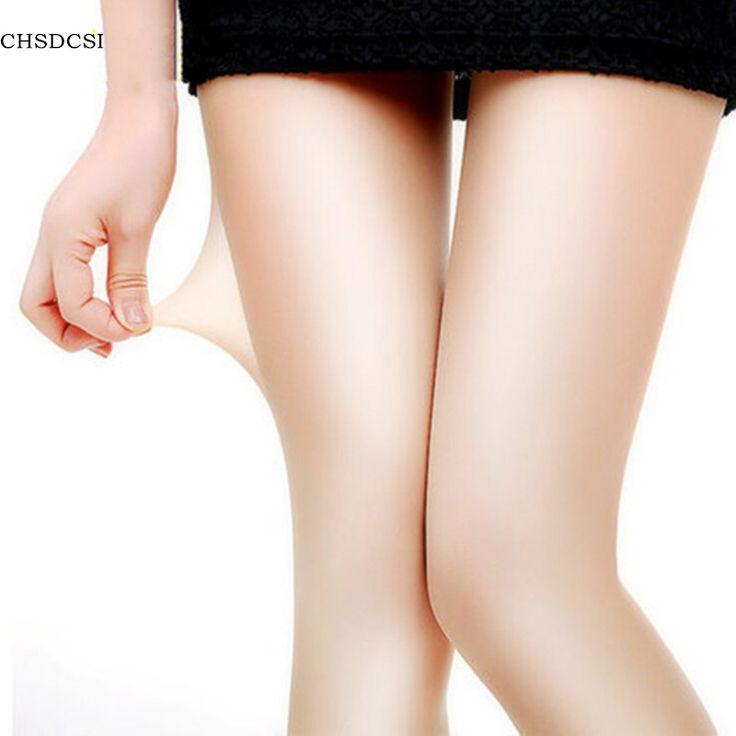1 개 섹시한 나일론 스판덱스 레이디 여성 4 색 투명 스타킹 팬티 스타킹 블랙 그레이 커피 피부