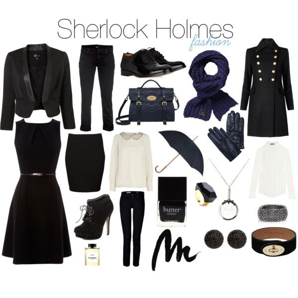 """Sherlock - Fashion"" by melovesharrypotter on Polyvore If I ever go to London...I'm so wearing this. Way too hot to wear the whole outfit here."