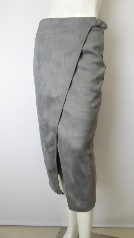JV Collection #grey #wrap #skirt NEW ARRIVAL IN STORE 47 Jetty Rd Glenelg 5045 SA AVAILABLE ONLINE SOON!! www.appletreeboutique.com.au