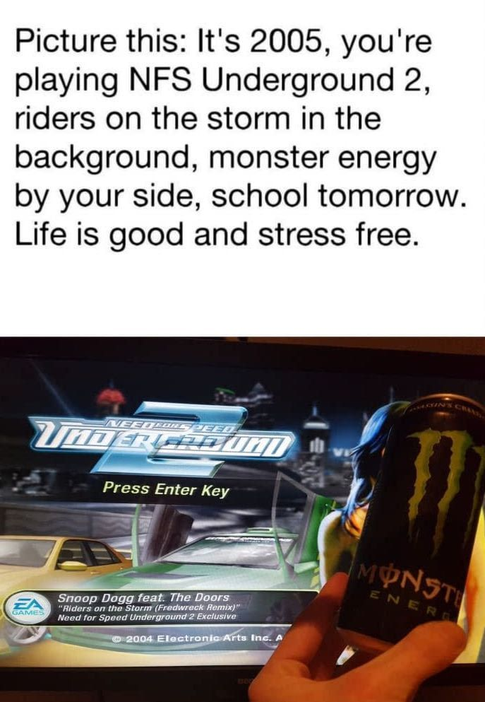 It S 2018 With Stress But This Is Now For Relaxing Life Is Good Riders On The Storm School Tomorrow