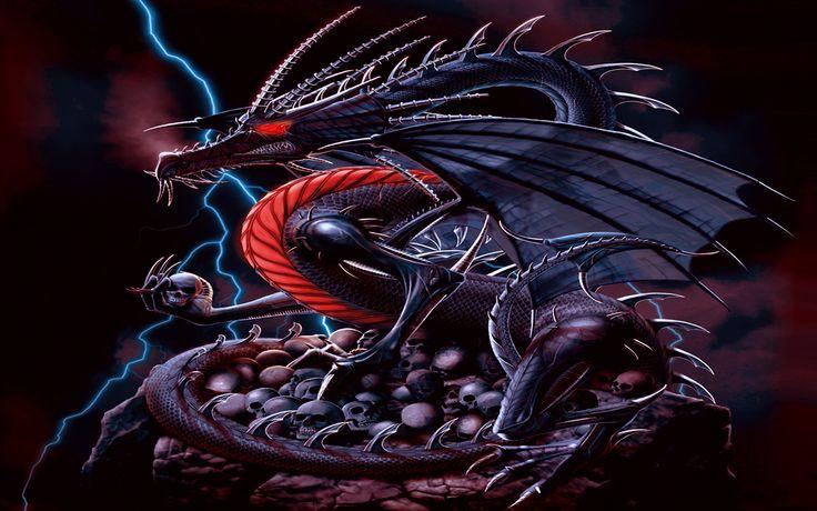 3D Moving Dragon GIF  Animated Dragon Mobile Wallpaper