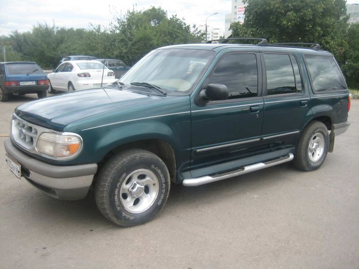 1995 Ford Explorer, My grandpa had one of these, it's not