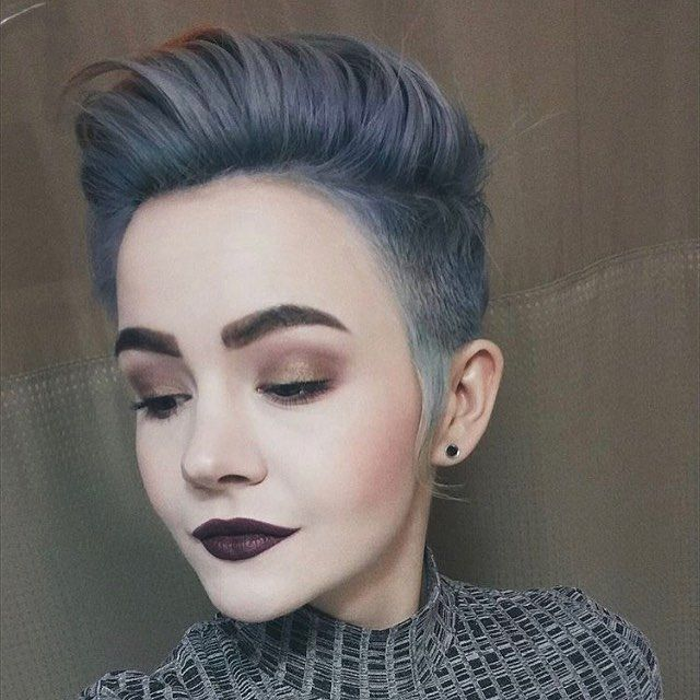 nice 55 Cool Shaved Hairstyles for Women  – Hottest Haircut Designs