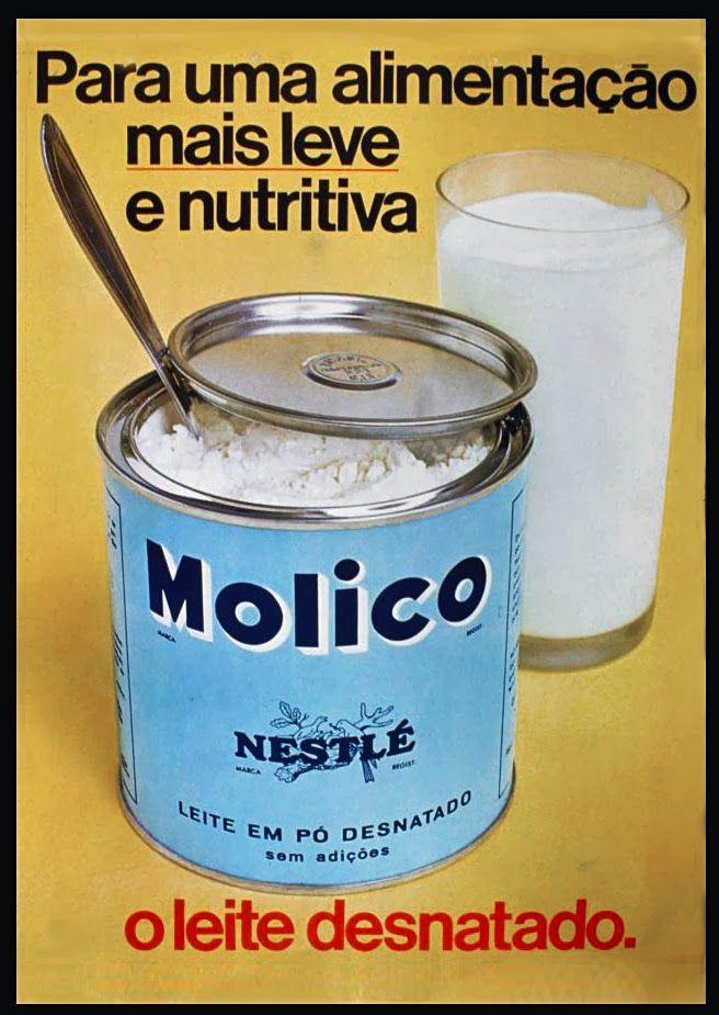 Anúncio leite Molico - 1970