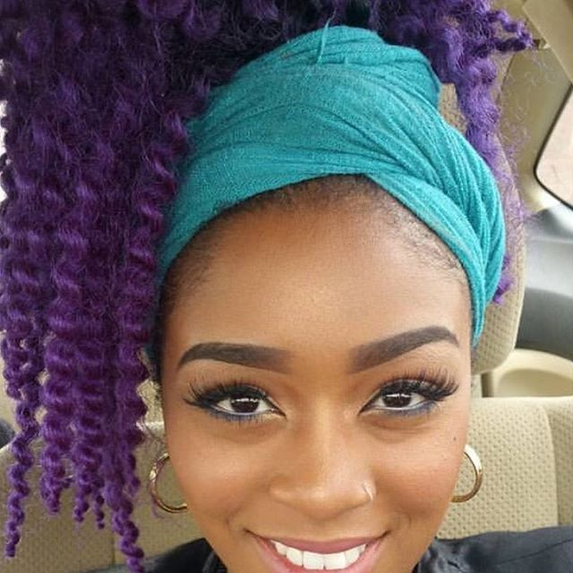 Crochet Hair Untwisted : ... crochet hair how ito maintain crochet braids see more by tationna