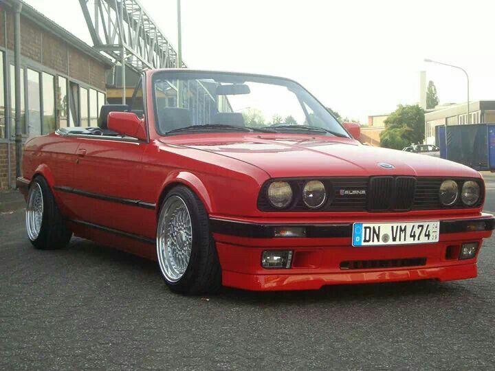 BMW E30 Alpina 3 series cabrio