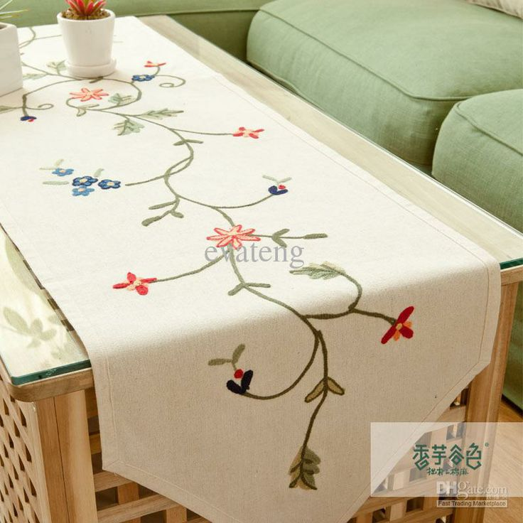 Wonderful Embroidered Table Runners   Google Search