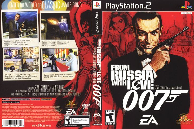 Pin By Malcolm On Playstation 2 Game Covers James Bond 007