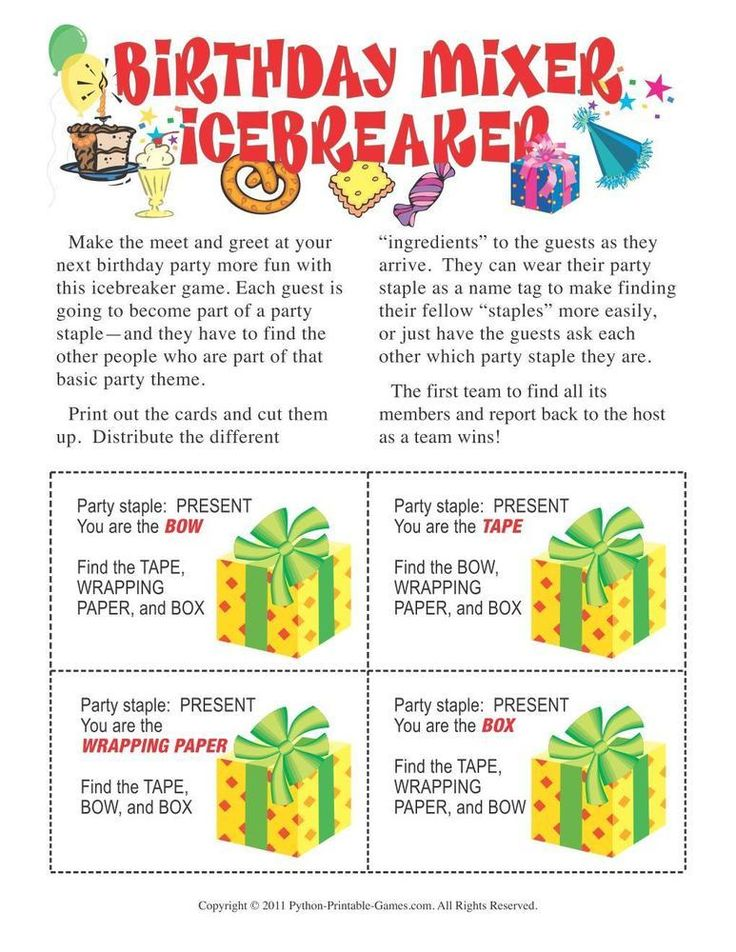 This is a graphic of Dynamite Free Printable Birthday Party Games Adults