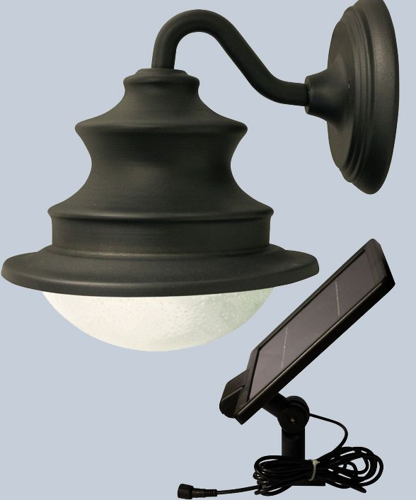 Tired of plain old shed lights? The new barn light has a solar panel that can be mounted on outside wall or roof. Then, mount the lamp in shed, barn, greenhouse, even carports or covered porches.  Manual on/off pull cord switch! http://www.solarflairlighting.com/content-product_info/product_id-2918/motion_activated_gooseneck_solar_barn_or_shed_light.html