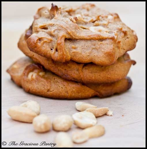 Clean Eating Peanut Butter Cookies --- Ingredients 1 cup peanut butter 3/4 cup honey 1 egg 1 tsp. vanilla extract 1/2 cup whole wheat pastry flour 1/2 cup peanuts (optional)