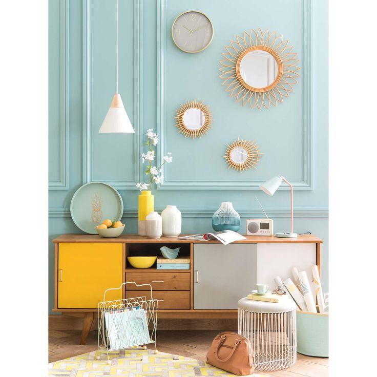 Les 25 meilleures id es de la cat gorie miroir maison du - Objetos decoracion salon ...