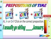 YON ENGLISH COM.: PREPOSITION : AT, ON, and IN.1