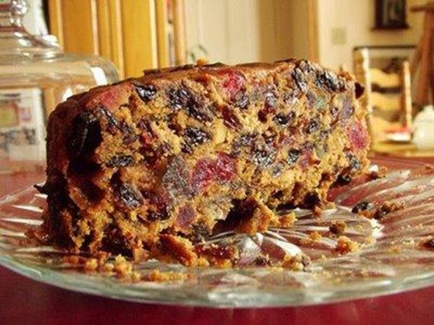 American Christmas Cake - Ingredients and Preparation