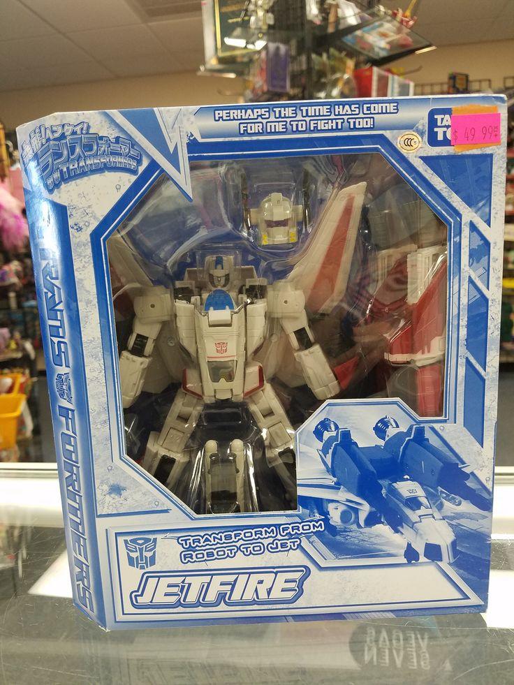 Takara Tomy Transformers Jetfire
