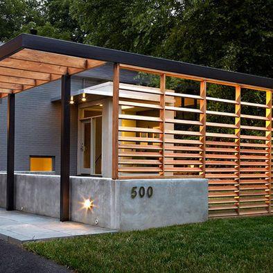 Best 25 modern pergola ideas on pinterest modern for Trellis carport