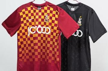 Bradford City AFC 2015/16 Nike Home and Away Kits