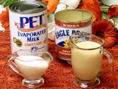 evaporated milk, sweetened condensed milk, cooking, tips, canned, can, recipes, receipts - © 2010 Peggy Trowbridge Filippone, licensed to About.com, Inc.