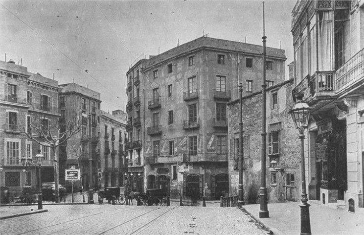 Plaça Jonqueres.1909